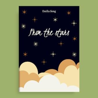Das estrelas capa do livro wattpad