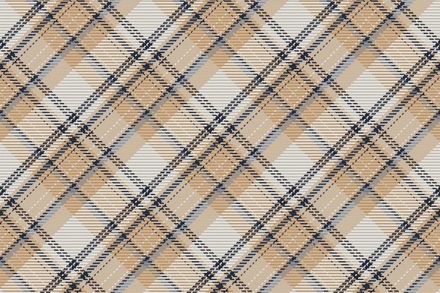 De fundo vector sem costura padrão xadrez para camisa de flanela, cobertor, manta ou outro design têxtil moderno.
