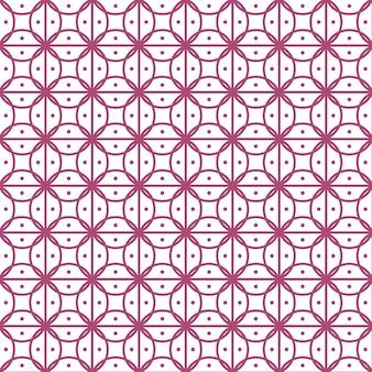 De fundo vector sem emenda, padrão de linha floral.