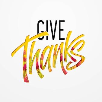 Dê um cartão de agradecimento