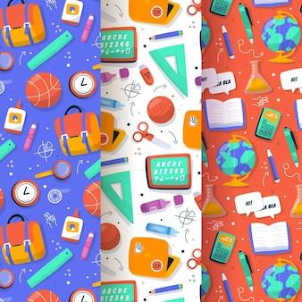 De volta à coleção de padrões escolares