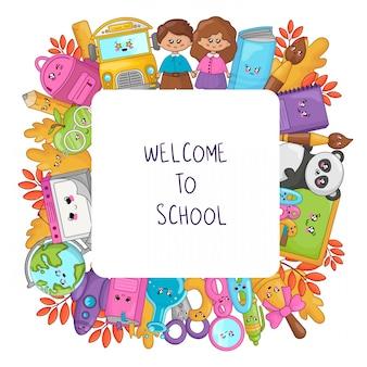 De volta à escola kawaii