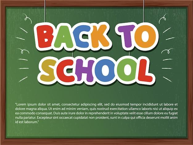 De volta à escola. vetorial, educação, ilustração