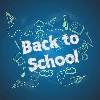 De volta à escola.