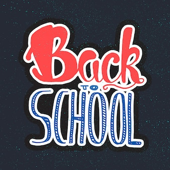 De volta à rotulação da escola