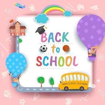 De volta ao círculo da escola