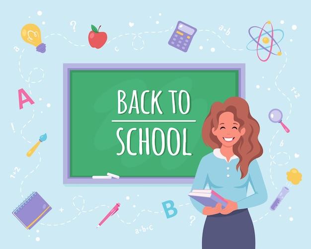De volta ao conceito de escola professora em sala de aula
