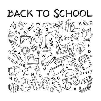 De volta ao doodle da escola