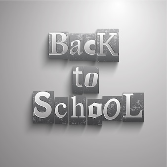 De volta ao fundo da escola