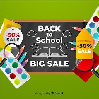 De volta ao fundo de vendas da escola