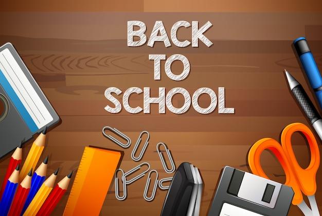 De volta ao modelo de madeira da escola