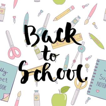 De volta ao padrão escolar