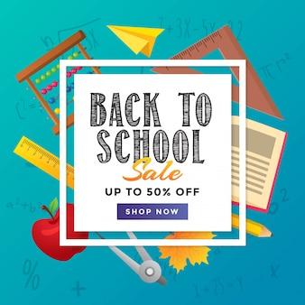 De volta ao projeto do cartaz da venda da escola