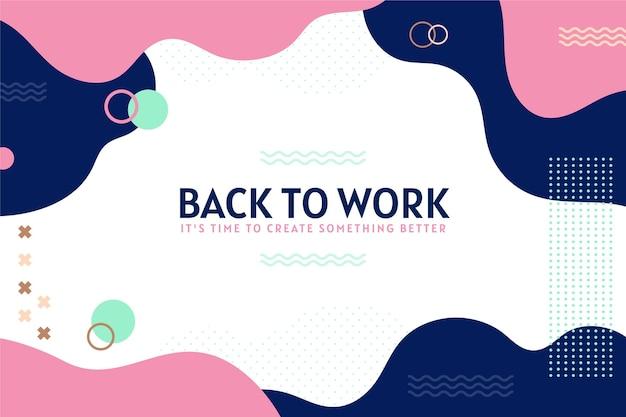 De volta ao trabalho - histórico de memphis