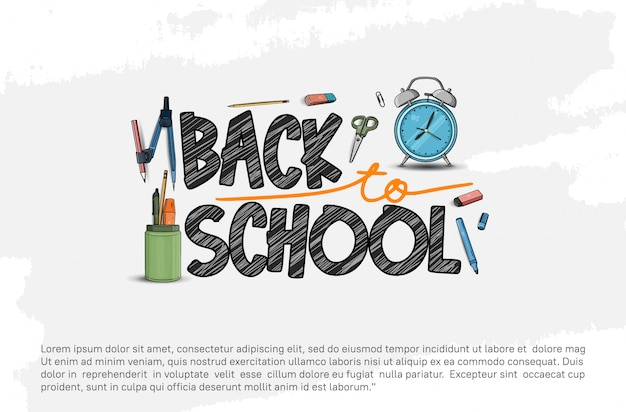 De volta aos acessórios escolares