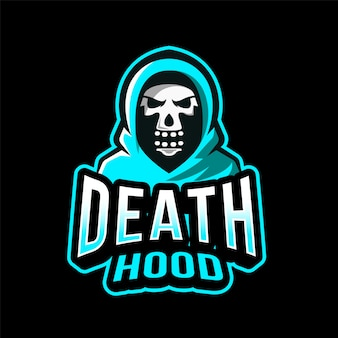 Death hood esport logotipo