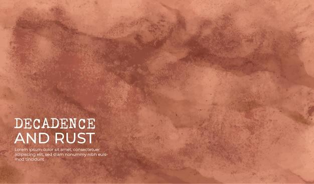 Decadência e textura de fundo de ferrugem