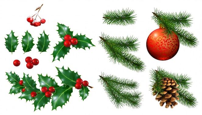 Decoração da árvore de natal 3d