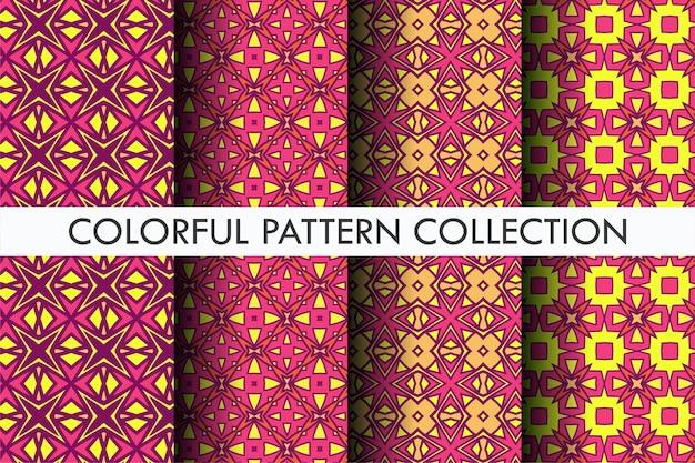 Decoração de coleção estética de padrão de outono