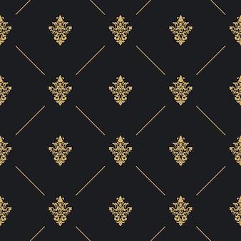 Decoração de padrão uniforme