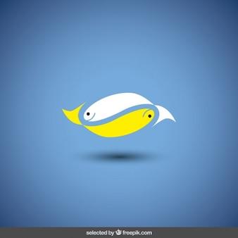 Decoração peixes logotipo