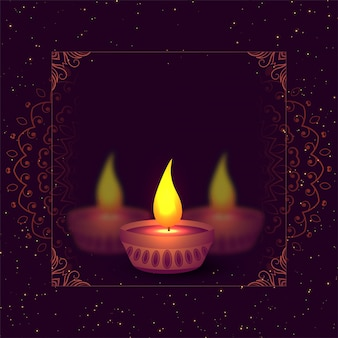 Deepwali diya background