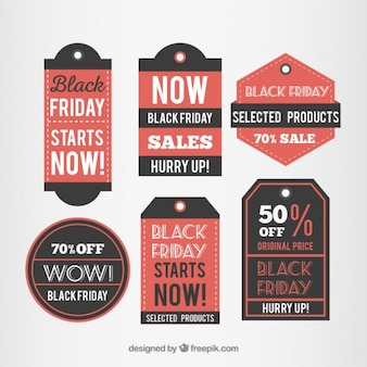 Defina etiqueta de black friday