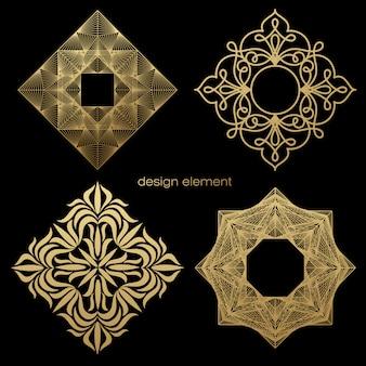 Defina o quadro para criar um logotipo.