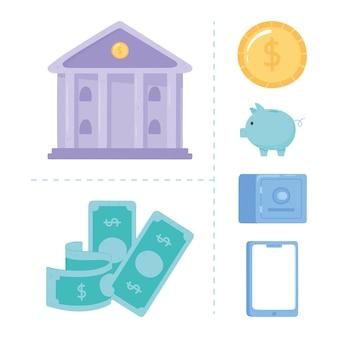 Definir banco online