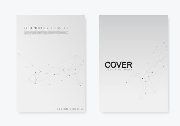 Definir brochuras cobre modelo com conectar