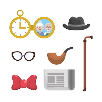 Definir coisas de avós para usado o tempo todo