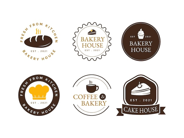 Definir conceito de design de logotipo de padaria