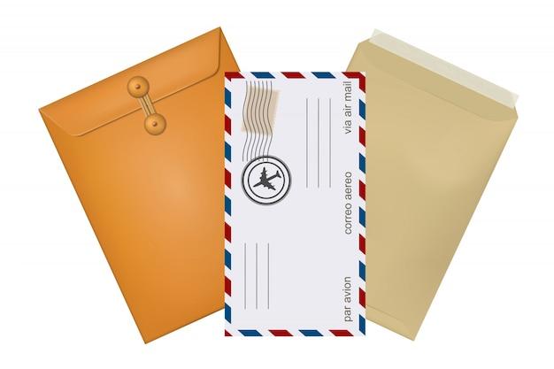 Definir correio konfertov