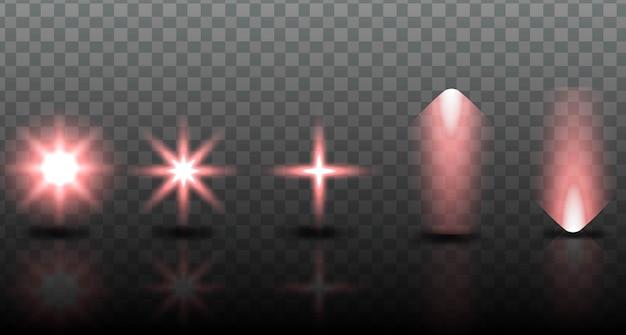 Definir efeito de iluminação da coleção