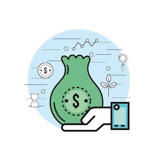 Definir finanças analíticas para a estratégia de corporações de negócios