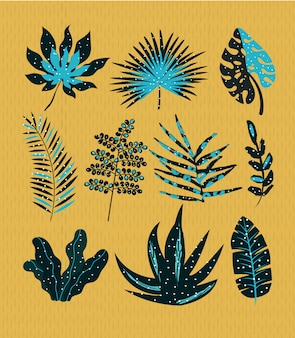 Definir folhas abstratas
