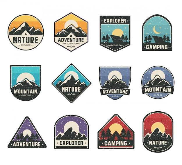 Definir logotipo de cor para atividades de aventura ou ao ar livre
