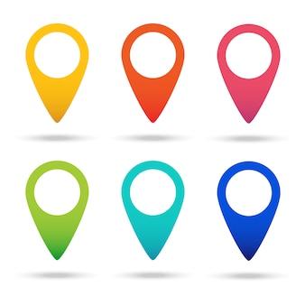 Definir mapa marcador de ícone de ponteiro.