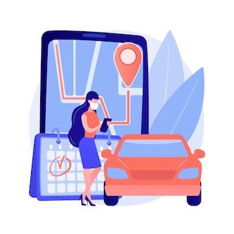 Definir o conceito abstrato de serviço de coleta rápida e eficiente