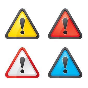 Definir perigo aviso atenção atenção cor