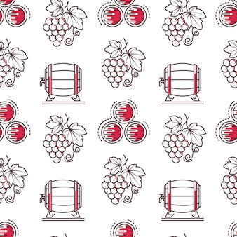 Degustação de vinhos e vinificação padrão uniforme