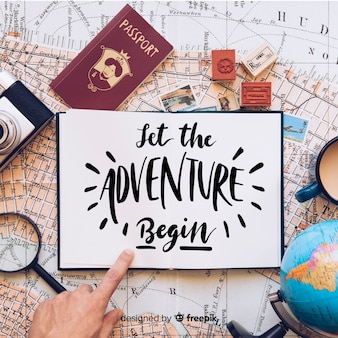 Deixe a aventura começar