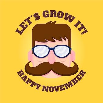 Deixe crescer feliz movember