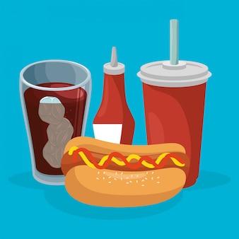 Deliciosa comida rápida