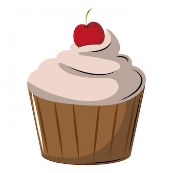 Deliciosa sobremesa de cupcake