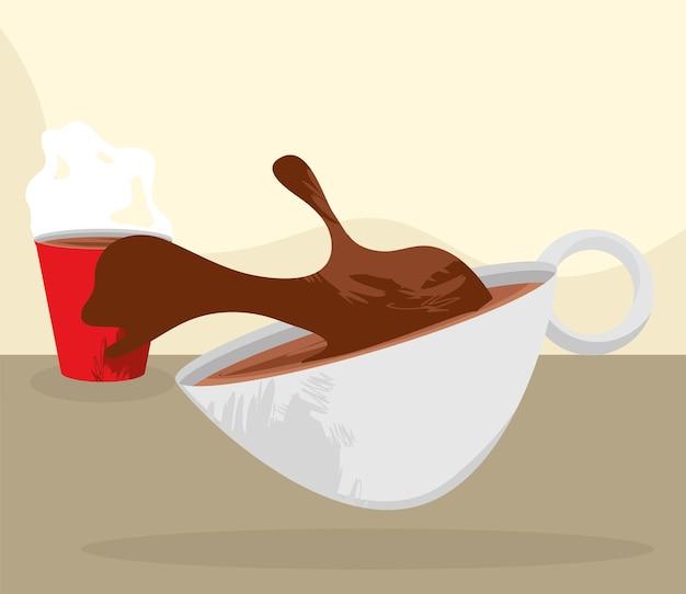Deliciosas bebidas de café