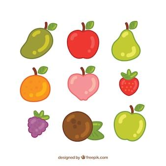 Deliciosas frutas de verão