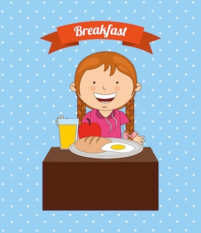 Delicioso café da manhã