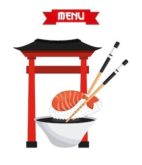 Delicioso design de sushi