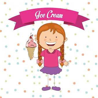 Delicioso sorvete